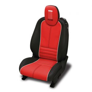 Graphite-dark-wrap-Red-center-Pearl-wings-piping-Black-all-stitch.-Foose-logo-included-on-headrest_300x100000